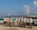 Team with VK9MT banner