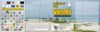VK9MT four side QSL card, inside